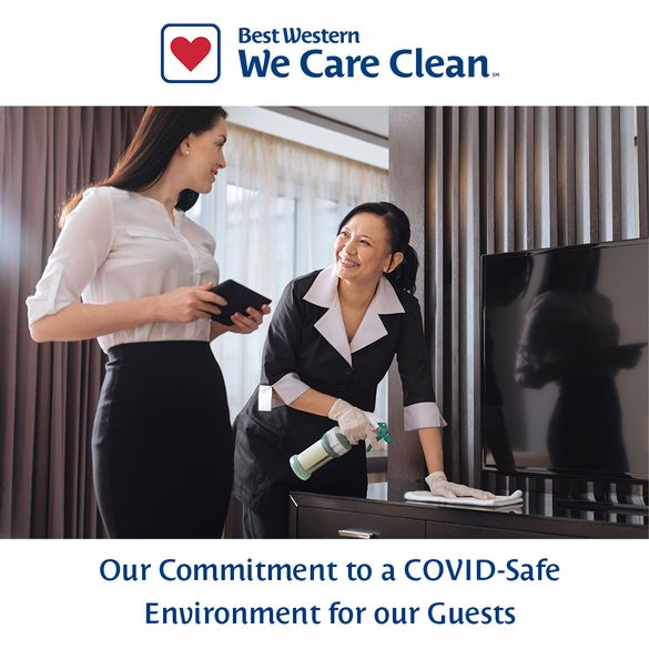 Preview: Launching 'We Care Clean': BWH Hotel Group ...